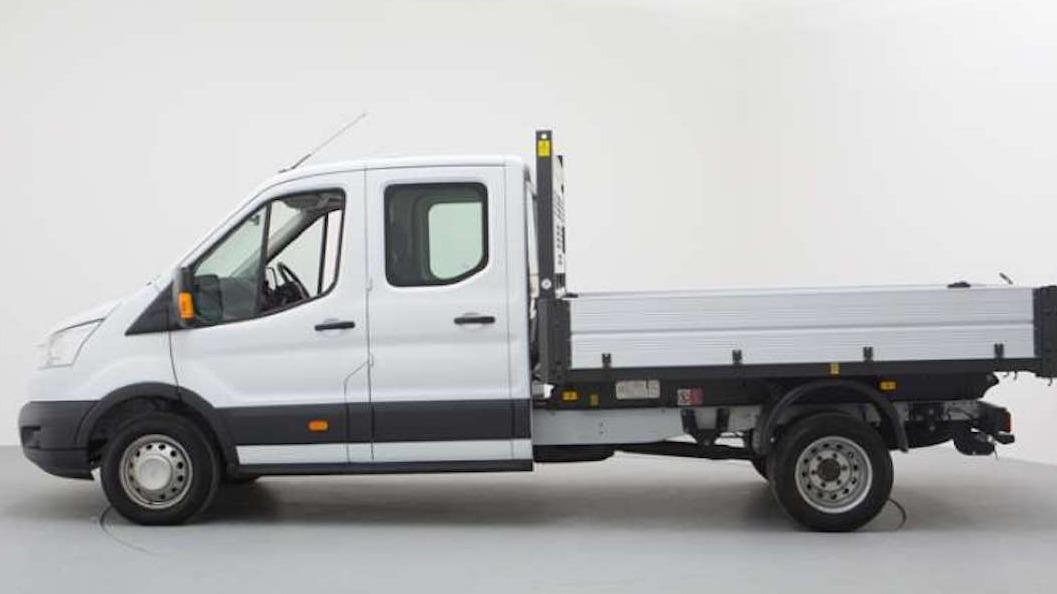 Double cab dropside/tipper